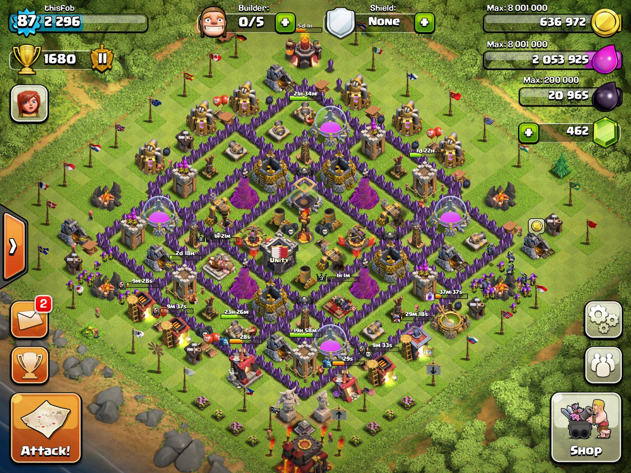 Clash of Clans Tips : Town Hall level 10 Layouts