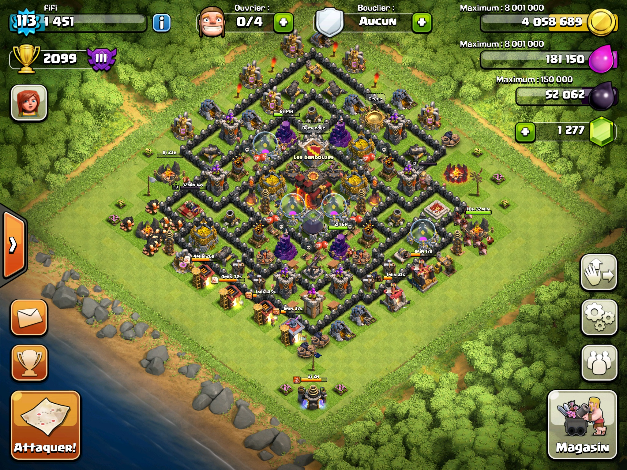 Clash of Clans Bases Town Hall Level 10