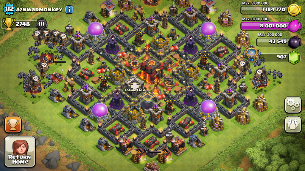 clash of clans defense keeps losing
