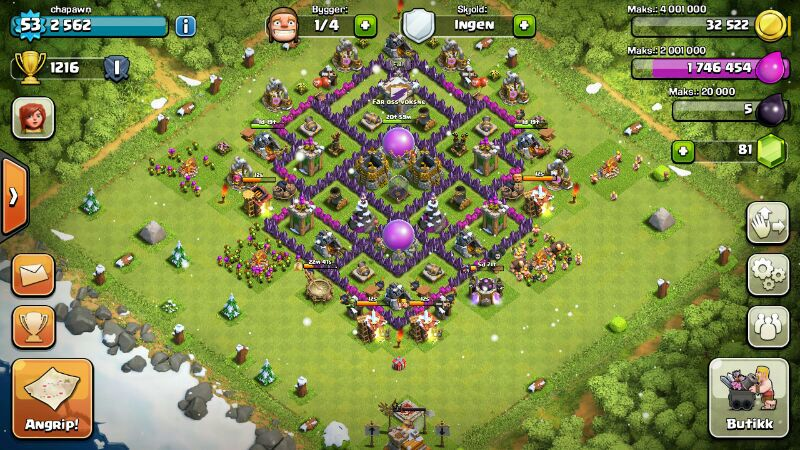 clash of clans level 7 barbarian king