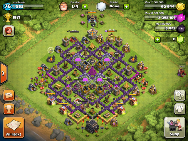 X Bow Clash Of Clans Clash of Clans Tips : ...