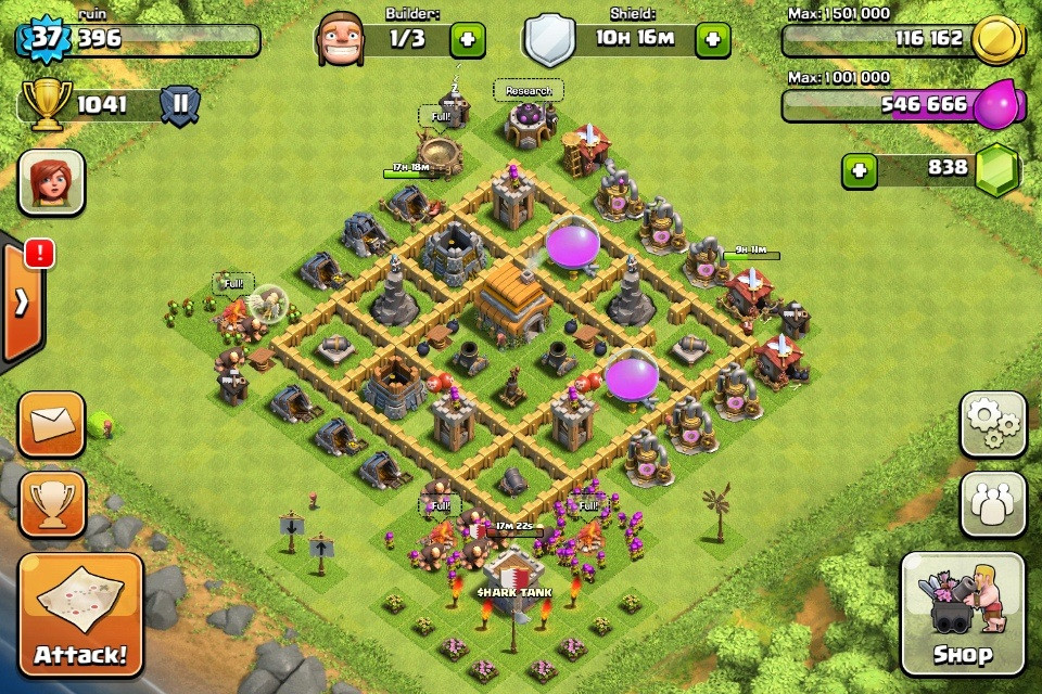 Defensive base