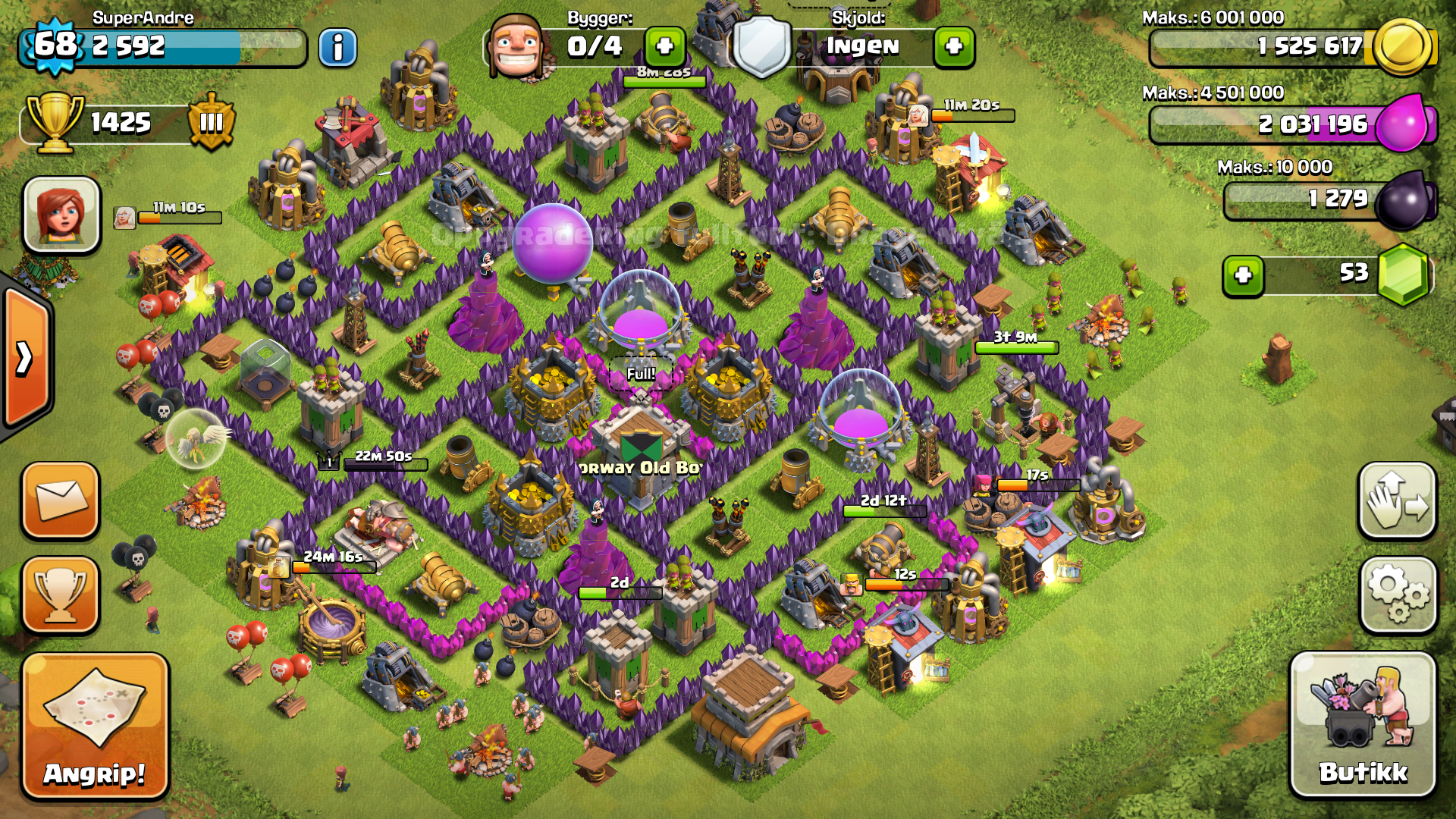 Clash of clans tips town hall level layouts part